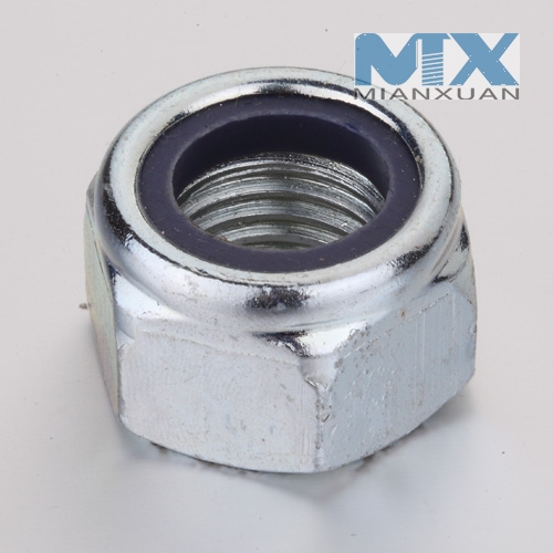 Nylon Insert Hexagon nut(DIN985 side B)