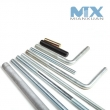 Thread rods (DIN975, DIN976)