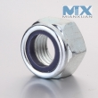 Nylon Insert Hexagon nut(DIN985 side A)